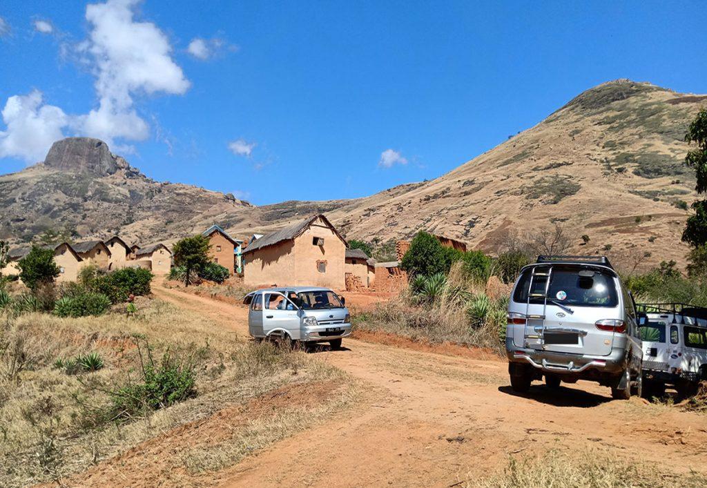 rent a van minibus Madagascar